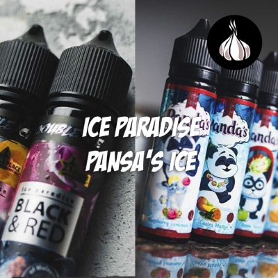 #2 Обзор по чесноку - жидкости ICE PARADISE и PANSA'S ICE