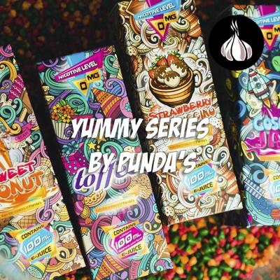 #3 Обзор по чесноку - жидкости YUMMY series by PUNDA'S