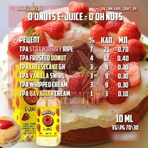 D'onuts ejuice - D'Oh Nuts Clone