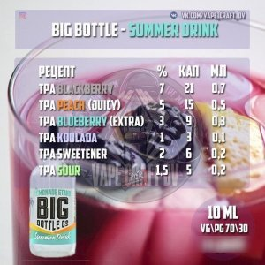 Big Bottle - Summer Drink Clone