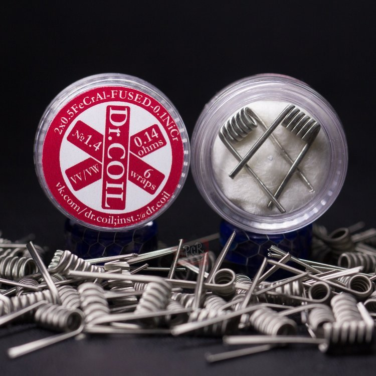 Fused Clapton Coil № 1.4 (0,14 Ом) by Dr.COIL в Хабаровске