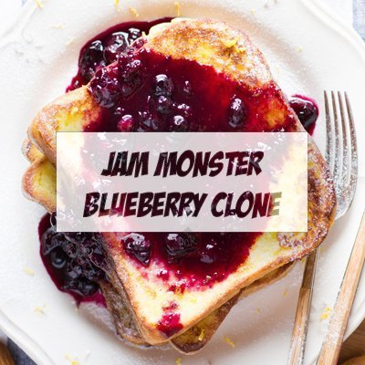 Jam Monster - Blueberry Clone
