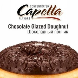 CAP Chocolate Glazed Doughnut