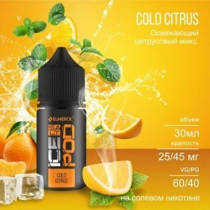 ICEPOD Salt - COLD CITRUS