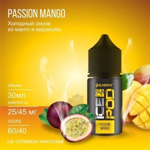 ICEPOD Salt - PASSION MANGO