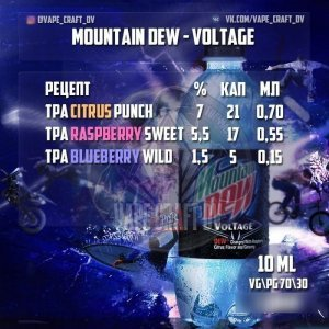 Top eliquidrecipes.com - Mountain Dew Voltage