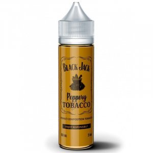 BLACK JACK Peppery Tobacco 60ml (Крепость 3 мг )